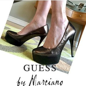 Guess by Marciano Metallic Pumps